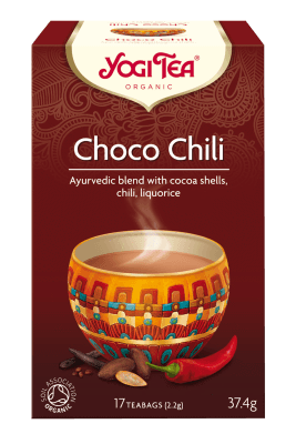 Hot Drinks - Yogi Tea Organic Choco Chili Tea (17 Teabags) (37.4g)