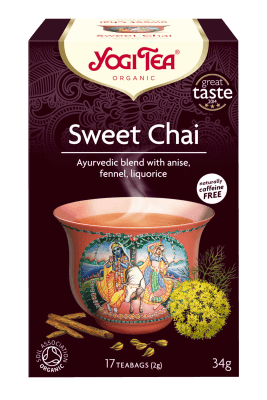 Hot Drinks - Yogi Tea Organic Sweet Chai Tea (17 Teabags) (34g)