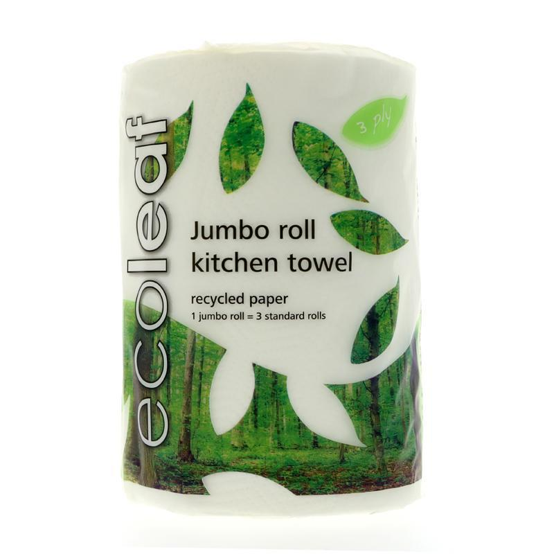 Ecoleaf Jumbo Roll Kitchen Towel - TheVeganKind