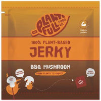 Meat Style - The Plantifull Food Co - 100% Plant Based Jerky - BBQ Mushroom (30g)