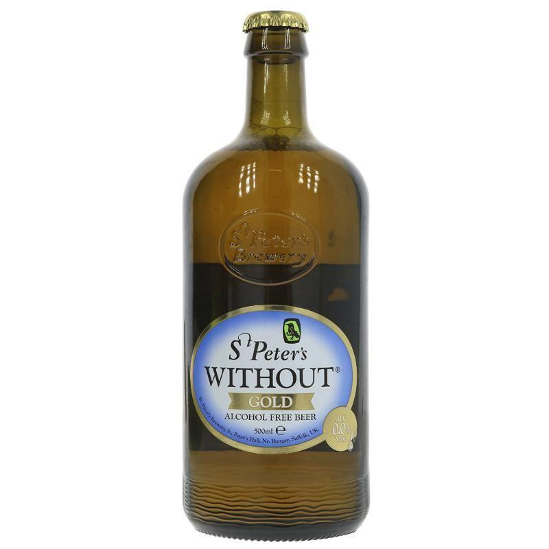 Non-Alcoholic - St Peter's - Without Gold - Alcohol Free Beer (500ml)