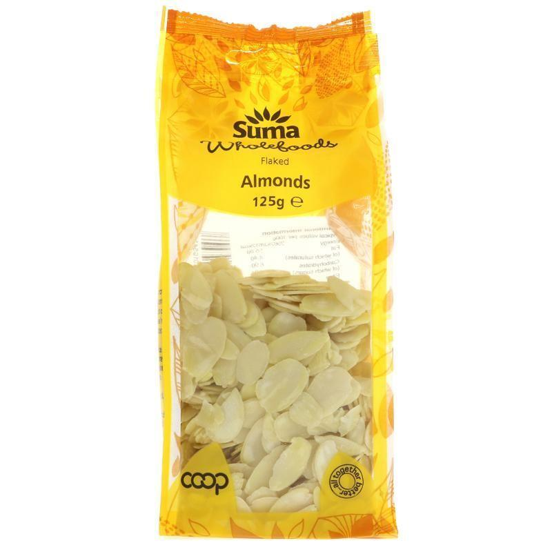 Nuts - Suma - Flaked Almonds (125g)