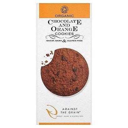 Other Snacks - Against The Grain - Organic Chocolate & Orange Cookies (150g)