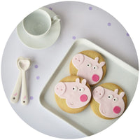Other Snacks - (BEST BEFORE 06/05) Gardners Cookies - Individually Wrapped Shortbread Cookie - Pig (85g)
