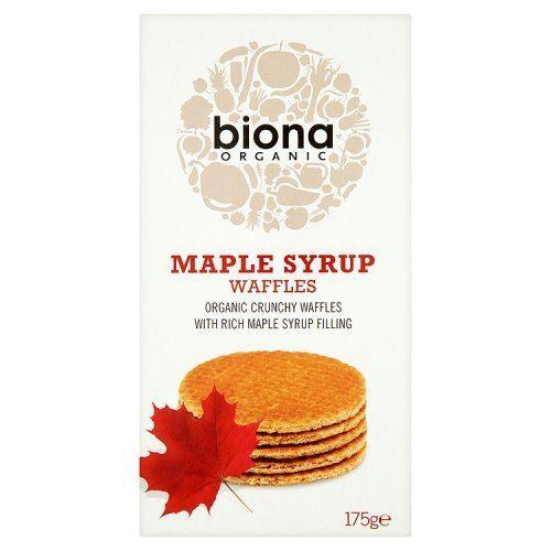Other Snacks - Biona - Maple Syrup Waffles (175g)