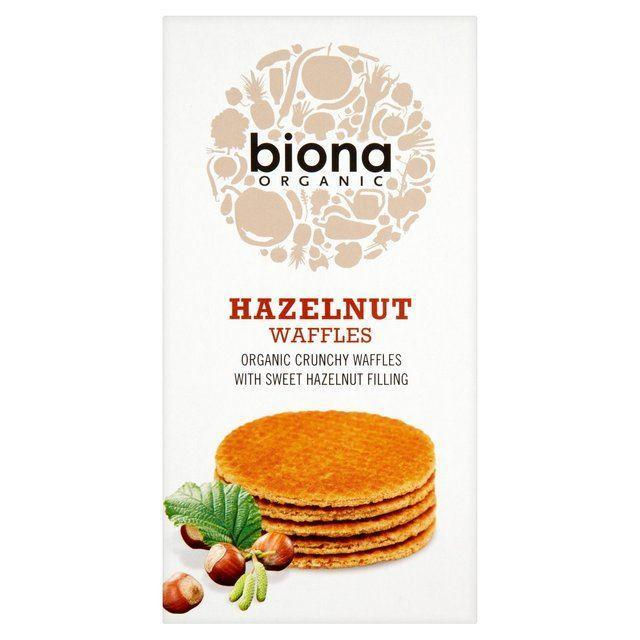 Other Snacks - Biona Organic - Hazelnut Waffles (175g)