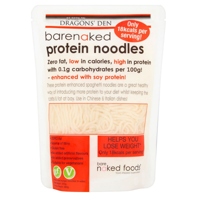 Pasta, Rice & Wholefoods - Bare Naked Foods - Protein Noodles (380g)