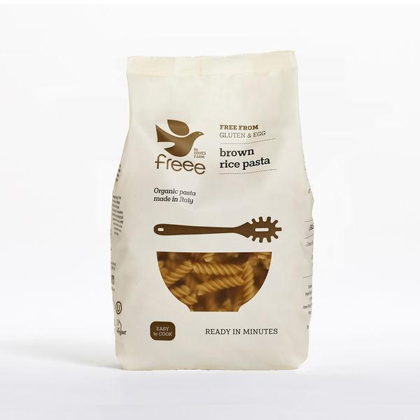 Pasta, Rice & Wholefoods - Doves Farm Brown Rice Pasta