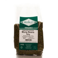 Pasta, Rice & Wholefoods - Green City - Organic Mung Beans (500g)