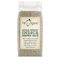 Pasta, Rice & Wholefoods - Mr Organic - Indian Organic Indica Brown Rice (500g)