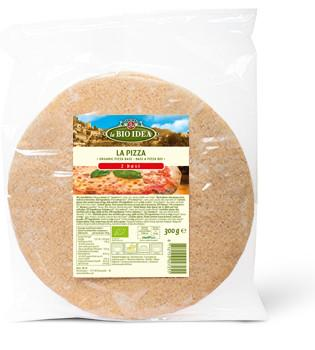 Pastas, Grains & Pulses - La Bio Idea Organic Wheat Pizza Bases (Pack Of 2) (300g)