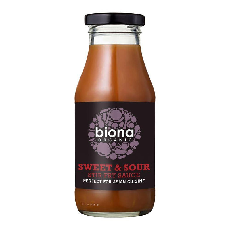 Sauces & Stocks - Biona - Organic Sweet & Sour Stir Fry Sauce (240ml)