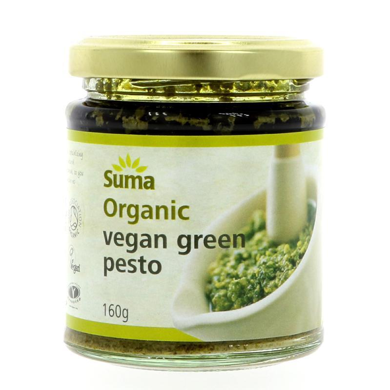 Sauces & Stocks - Suma Organic Pesto (Various) (160g)