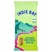 Savoury Snacking - Indie Bay - Sunflower & Superseeds Pretzel Bites (26g)