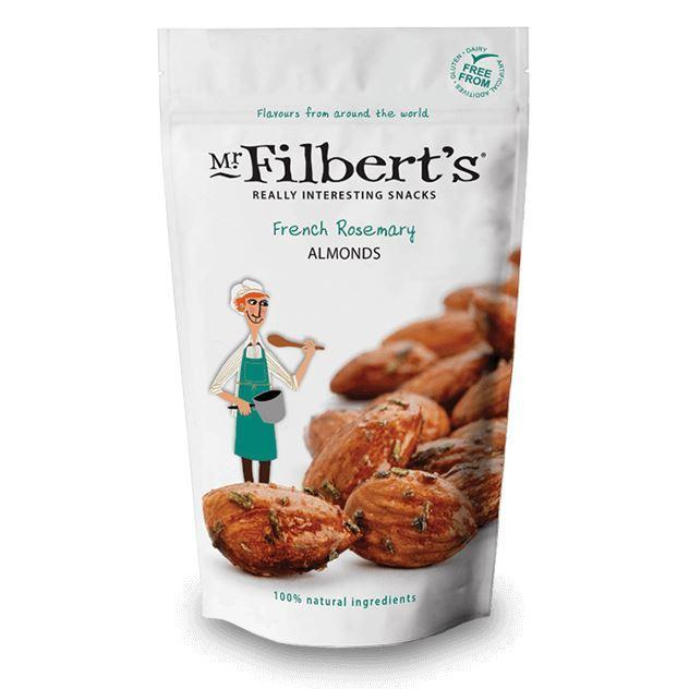 Savoury Snacking - Mr Filberts - French Rosemary Almonds (110g)