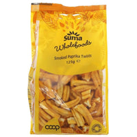 Savoury Snacking - Suma - Smoked Paprika Noodle Twists (125g)