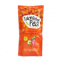 Savoury Snacking - Taking The Pea - Sweet Chilli Salsa Crunchy Peas (40g)