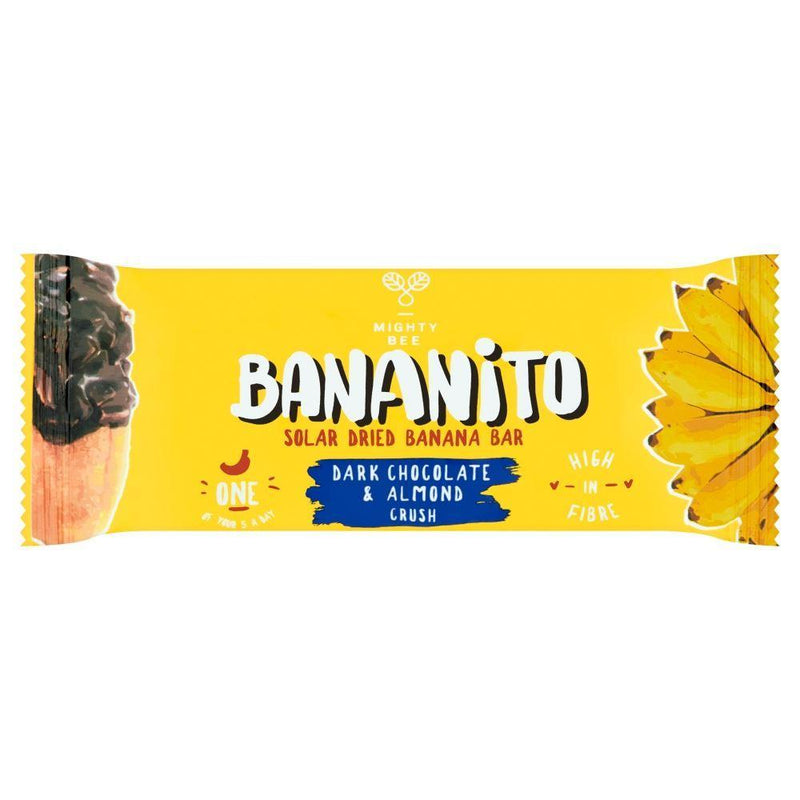 Snack Bars - Bananito - Banana Bar Chocolate & Almond (30g)