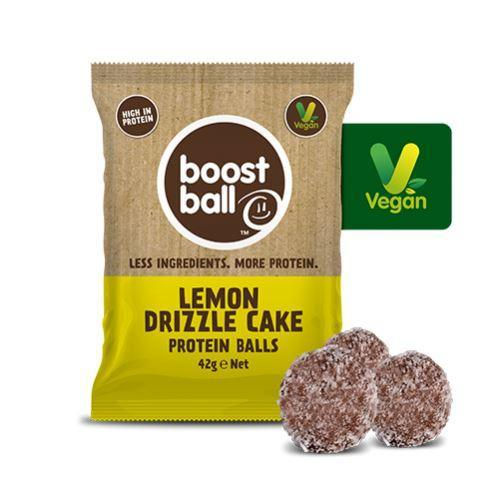 Snack Bars - Boost Ball - Protein Balls - Lemon Drizzle (42g)