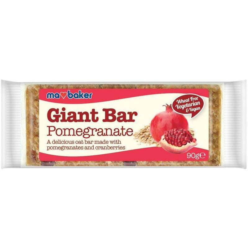 Snack Bars - Ma Baker Giant Bar. (Various Flavours)