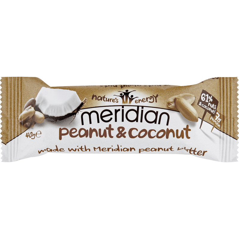 Snack Bars - Meridian Peanut & Coconut Bar (40g)