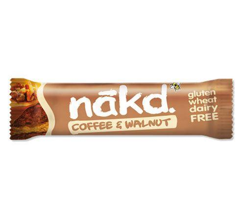 Snack Bars - Nakd - Raw Fruit & Nut Bars - Coffee & Walnut (35g)