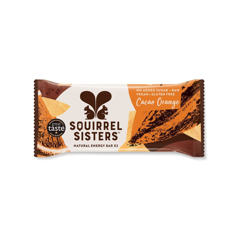 Snack Bars - Squirrel Sisters - Cacao Orange (2x20g)
