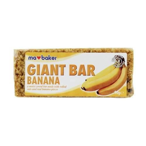 Snacks - Ma Baker Giant Bar. (Various Flavours)