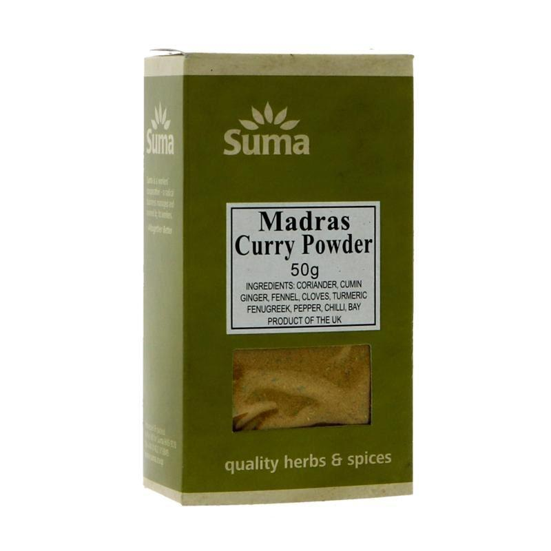 Spices & Herbs - Suma - Madras Curry Powder (50g)