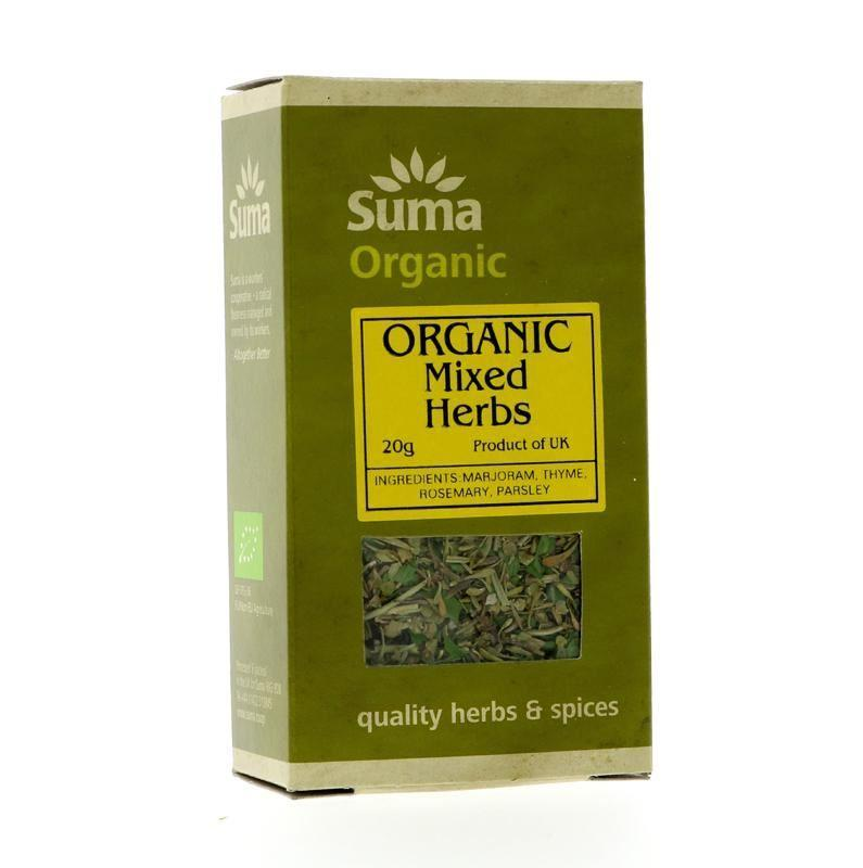 Spices & Herbs - Suma - Organic Dried Mixed Herbs (20g)