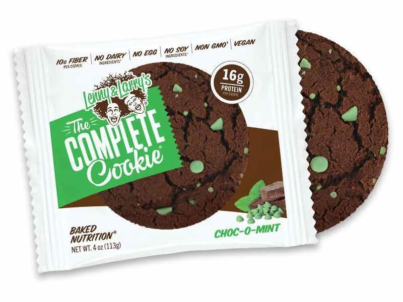 Sports Supplements - Lenny & Larry's - The Complete Cookie Choc-o-Mint (113g)
