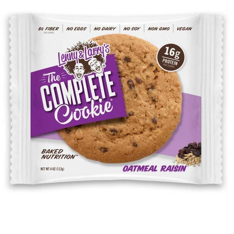 Sports Supplements - Lenny & Larry's - The Complete Cookie Oatmeal Raisin (113g)