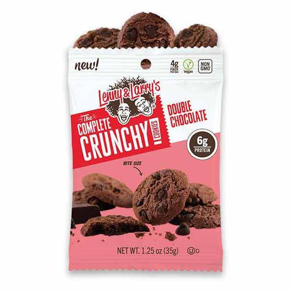 Sports Supplements - Lenny & Larry's - The Complete Crunchy Cookie - Double Chocolate (37.5g)