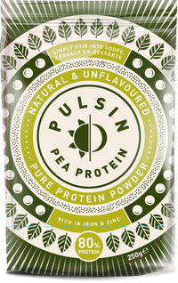 Sports Supplements - Pulsin Pure Protein Powders (Various) (250g)