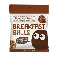Sports Supplements - The Protein Ball Co - Breakfast Hazelnut & Cacao (45G)