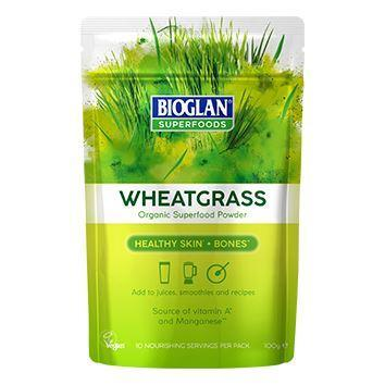 Superfoods - Bioglan - Organic Wheatgrass (100g)