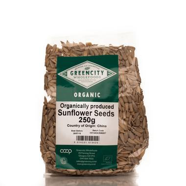 Superfoods - Green City - Organic Sunflower Seeds (250g)
