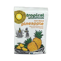 Superfoods - Tropical Wholefoods Fairtrade, Organic Sun Dried Pineapple (100g)