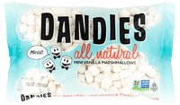 Sweets - Dandies All Natural Mini Vanilla Marshmallows (283g)