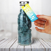 Sweets - The Treat Kitchen - Vegan Blue Raspberry Gummy Sweets Bottle (400g)