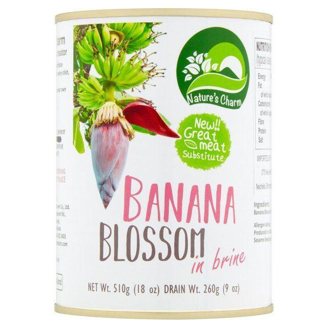 Tinned Fruit & Vegetables - Nature's Charm - Banana Blossom In Brine (510g)