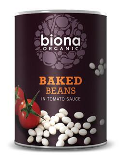Biona Baked Beans in a Rich Tomato Sauce (400g) - TheVeganKind