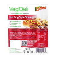 Vegan Meats - VBites VegiDeli Hot Dog Style Sausages (200g)