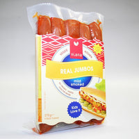 Vegan Meats - Viana Real Jumbos Mild Smoked Sausages (275g)