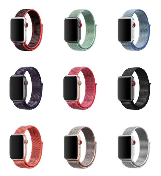 Nylon Apple Watch Bands