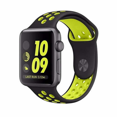Black & Yellow Apple Watch Sport Band