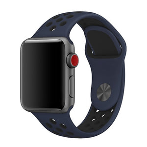 Dark Blue Apple Watch Sport Band