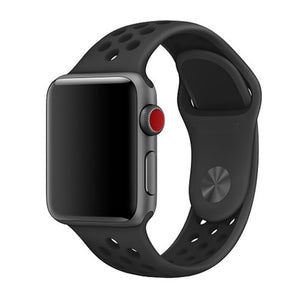 Black Apple Watch Sport Band
