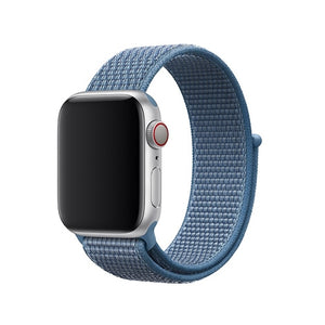 Blue Nylon Apple Watch Sport Band