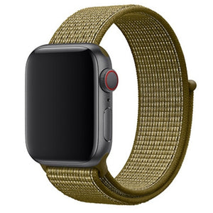 Olive Apple Watch Sport Band